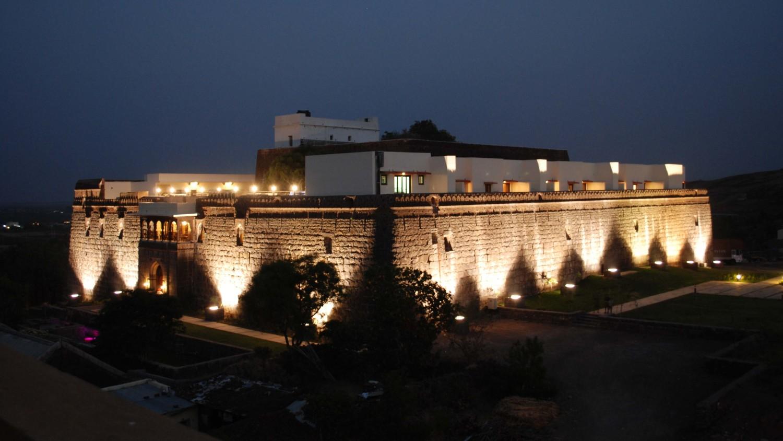 exterior 8 fort jadhavgadh heritage resort hotel pune - resort near mumbai 398