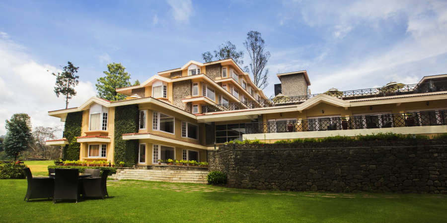 alt-text Exterior ,The Carlton  Hotel,  Kodaikanal Luxury hotels