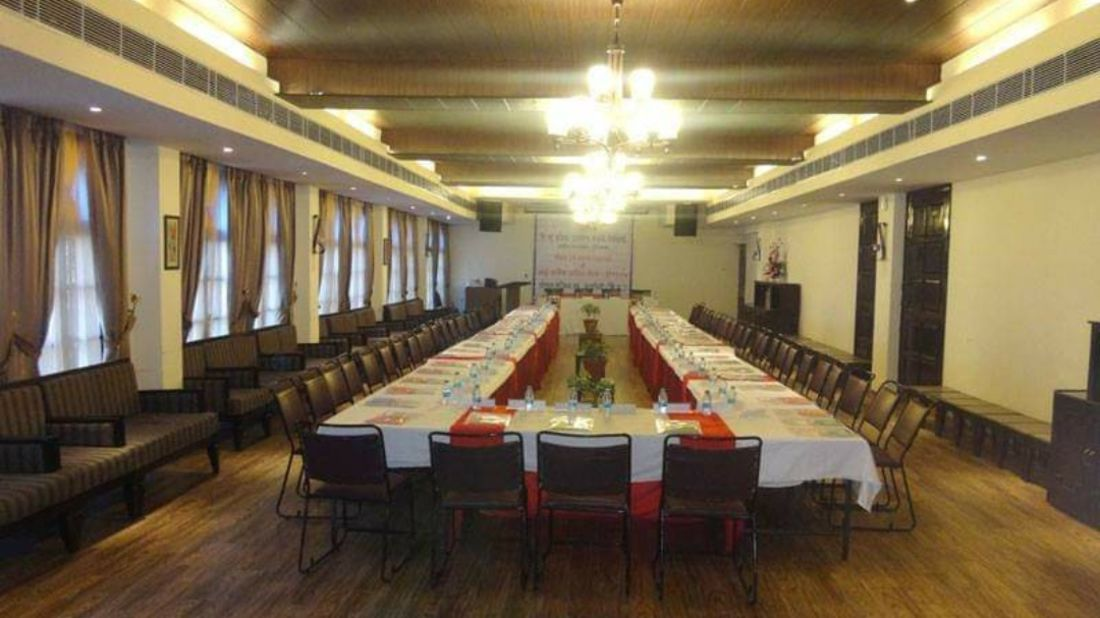 Banquet hall at Hotel Mount View, Banquet Hall in Dalhousie 2