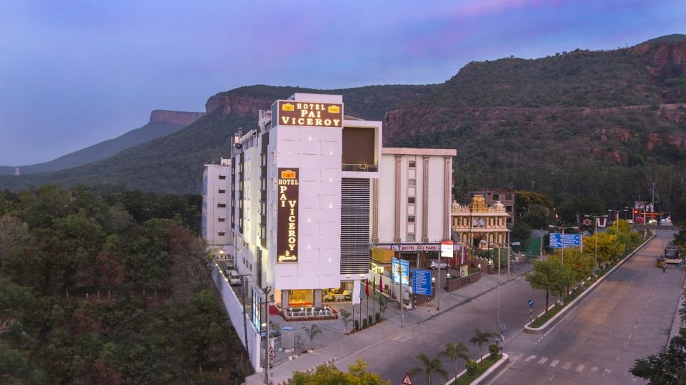 Hotel Pai Viceroy, Tirupati Tirupati Hotel Pai Viceroy Tirupathi Exterior 1