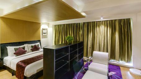 Davanam Sarovar Portico Suites, Bangalore Bangalore Deluxe Suite - Bedroom Hotel Davanam Sarovar Portico Suites Madiwala Bangalore