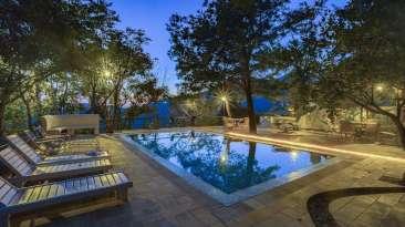 Swimming Pool, Bara Bungalow-Two chimneys, Nainital Resort