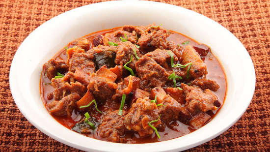 Hotel PR Residency        Amritsar mutton curry
