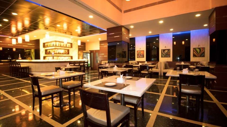 Restaurant at The Orchid Hotel Pune - 5 Star Hotel in Balewadi Pune