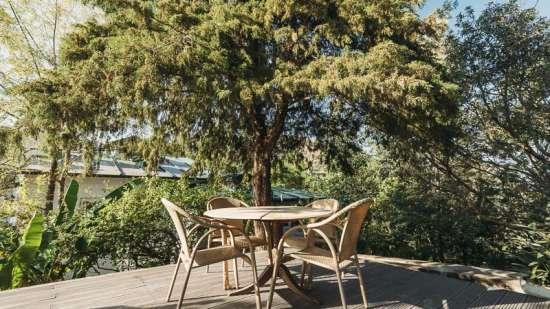 Lawn Table,  Bara Bungalow-Two chimneys, Gethia Resorts