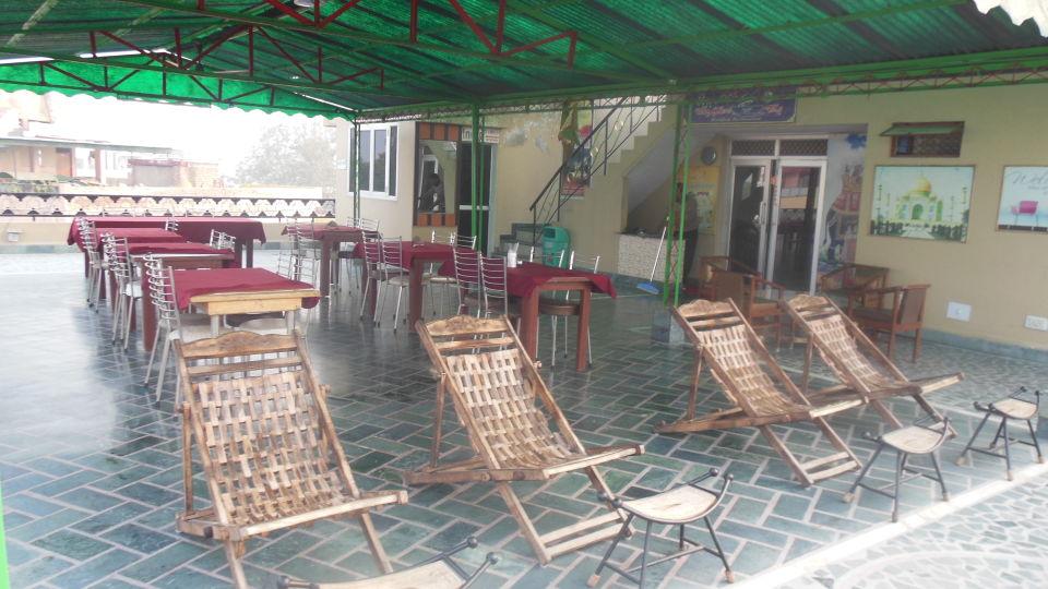 Hotel Taj Plaza Agra Rooftop Cafe Hotel Taj Plaza Agra 30