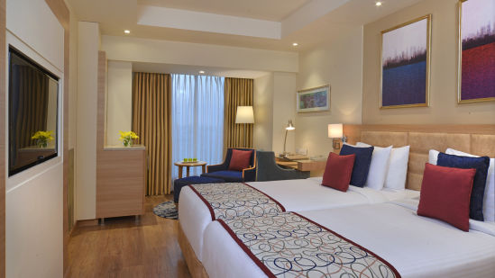 Room Twin at Golden Sarovar Portico Amritsar
