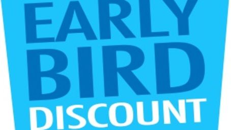 early-bird-discount