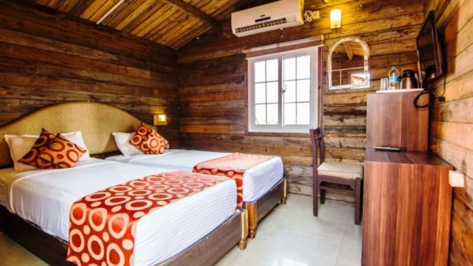 Deluxe Wooden Cottage at Mahodadhi Palace - A Beach View Heritage Hotel Puri