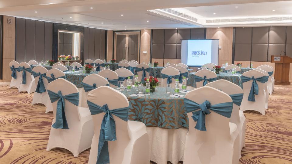 Banquet Hall at  Park Inn, Gurgaon - A Carlson Brand Managed by Sarovar Hotels, banquet halls in gurgaon 12
