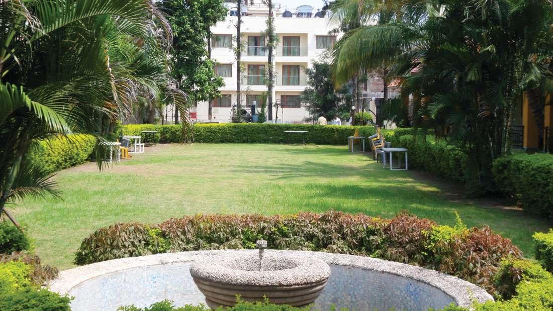 Garden near Pushpak Resort, Shirdi