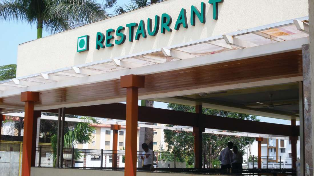Restaurant at Pushpak Resort, Shirdi