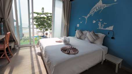 Delux2 beach front full seaview room The Beacha Club Hotel Krabi
