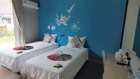 Superior twin bed room10 The Beacha Club Hotel Krabi Beach Resort