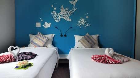 Superior twin bed room1 The Beacha Club Hotel Krabi Beach Resort