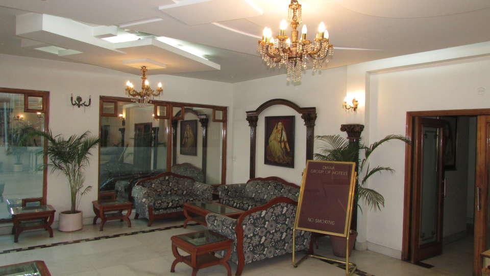 Hotel  Diana Palace, Jaipur Jaipur Reception and Lobby Hotel Diana Palace Jaipur 7