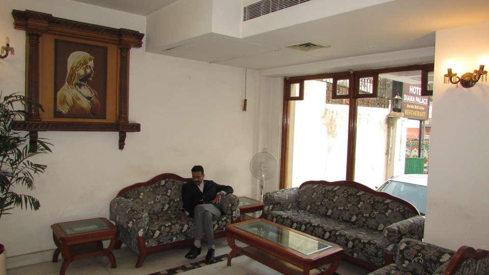 Hotel  Diana Palace, Jaipur Jaipur Reception and Lobby Hotel Diana Palace Jaipur 9