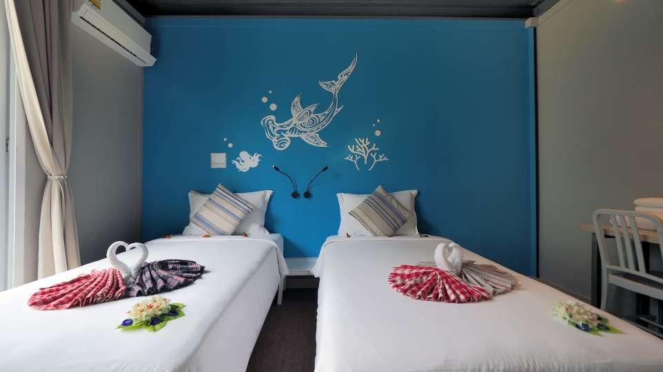 Superior twin bed room11 The Beacha Club Hotel Krabi Beach Resort