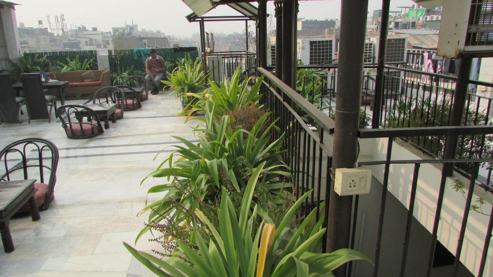 Ajay Guest House, Delhi New Delhi Rooftop Ajay Guest House Delhi