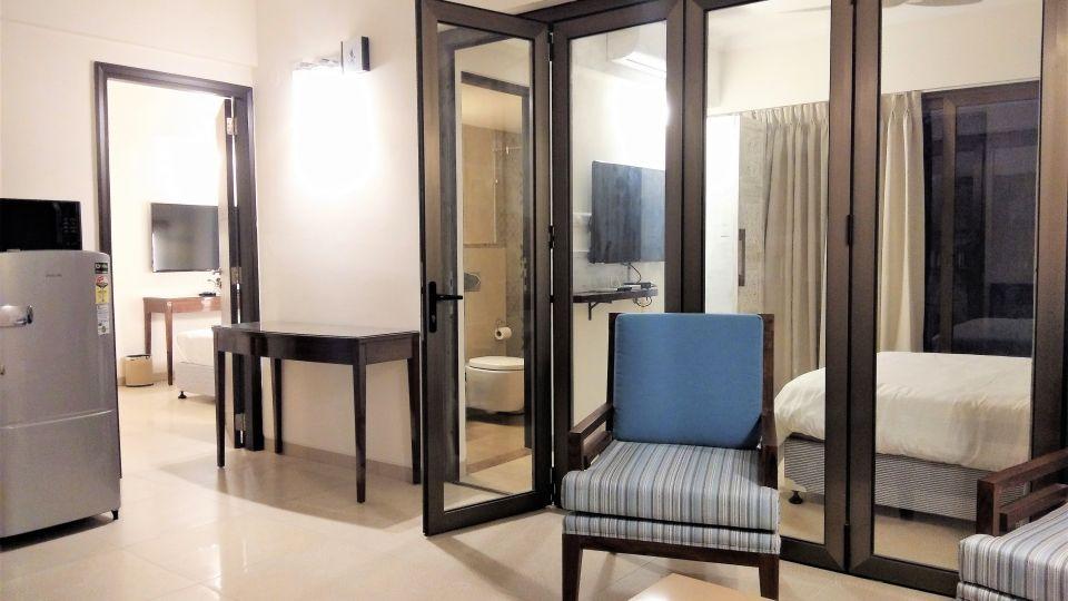 2 bedroom suite cindrella partition 2