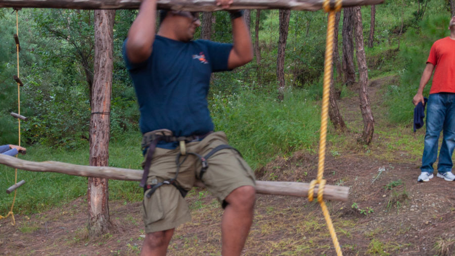 LETS activity Ropes course