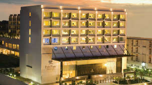 Facade Restaurants at Bathrooms at Park Plaza, Bengaluru - A Carlson Brand Managed by Sarovar Hotels