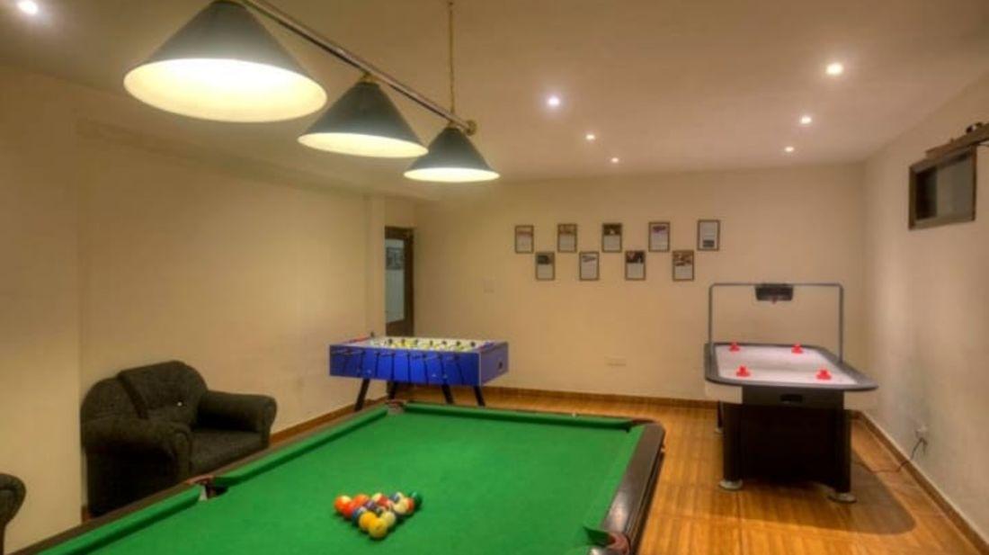 Games zone at Hotel Mount View, best hotels in Dalhousie 1