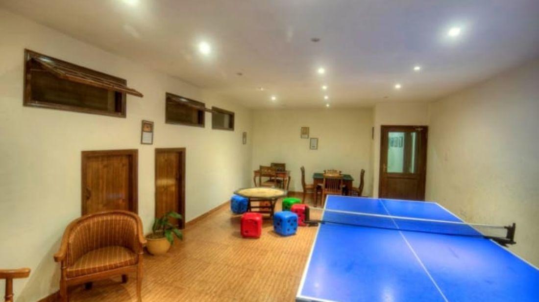 Games zone at Hotel Mount View, best hotels in Dalhousie 3