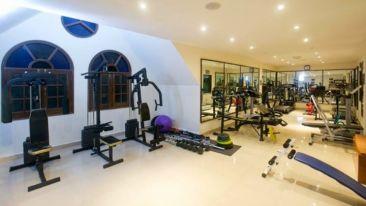 gym at Hotel Mount View, best hotels in Dalhousie