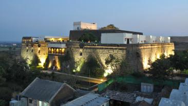 exterior 1 fort jadhavgadh heritage resort hotel pune - resort near mumbai