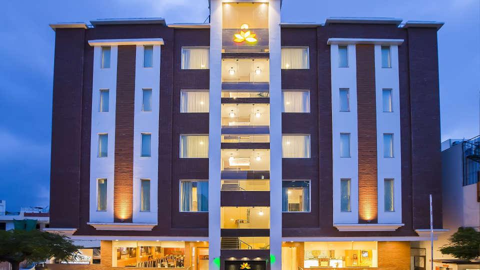 Hotel Kapish Smart, Jaipur Jaipur Facade Hotel Kapish Smart Jaipur 2