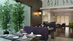 Tea Lounge at Residency Sarovar Portico Mumbai 2