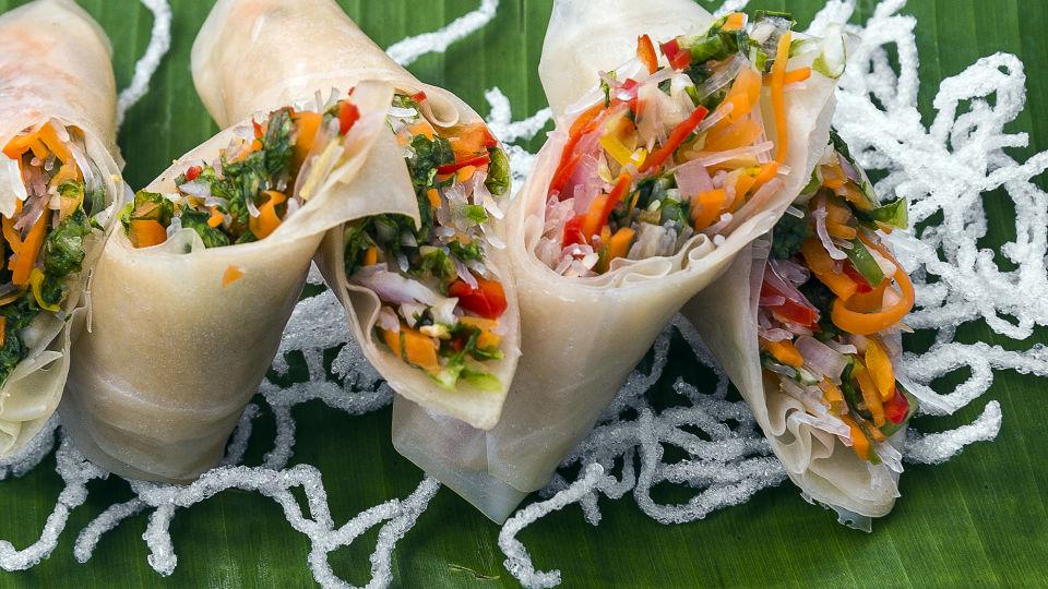 Vietnamese Veg Roll1