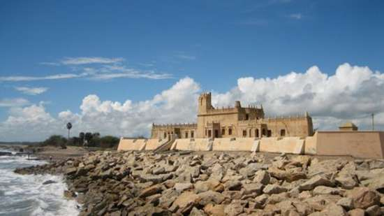Dansborg Fort, Activities around Bungalow On The Beach Tranquebar, Hotel In Tamil Nadu