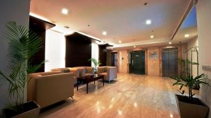Lobby at VITS Shiv Hotel, Morbi hotels, best business hotel near Rajkot.