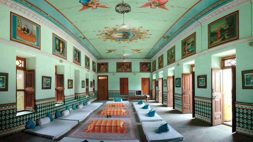 The Piramal Haveli - 20th C, Shekhavati Shekhavati Meetings The Piramal Haveli Shekhavati Rajasthan 2
