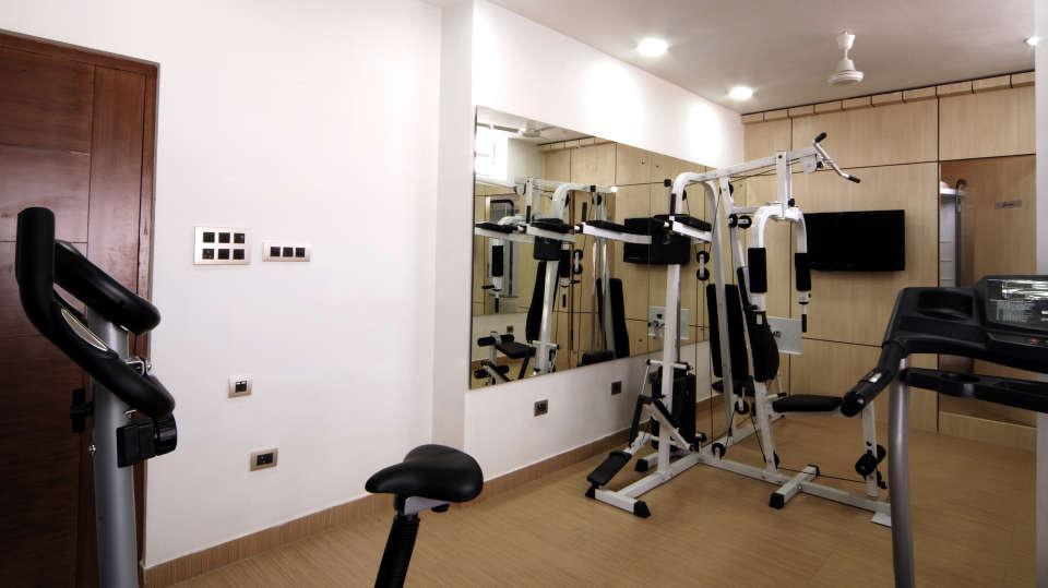 La Serene @ Madhapur Telangana Exercise Area Hotel Serenity La Serene Hyderabad