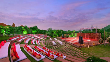 rangbhoomi amphitheatre at ananta udaipur zzziz1 yra9mo