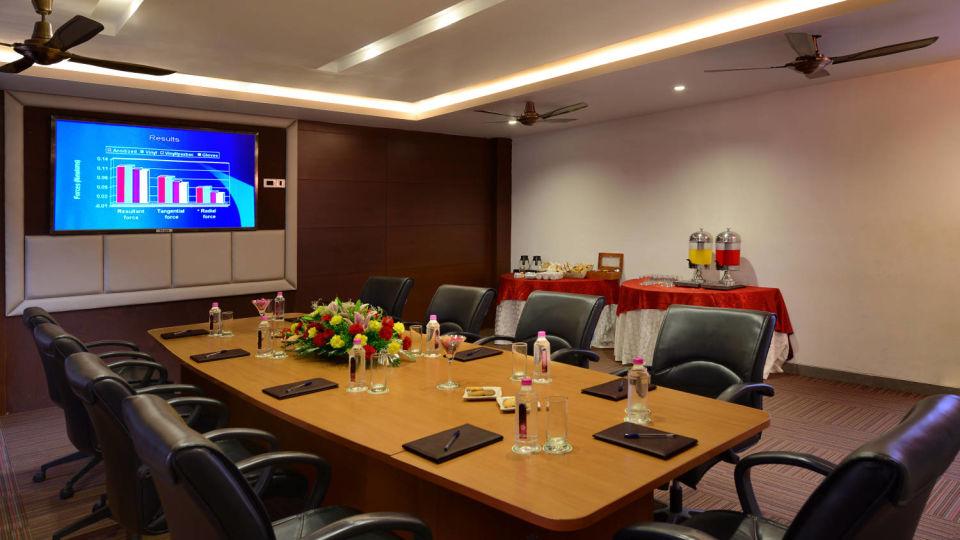 board-room at ananta udaipur resort