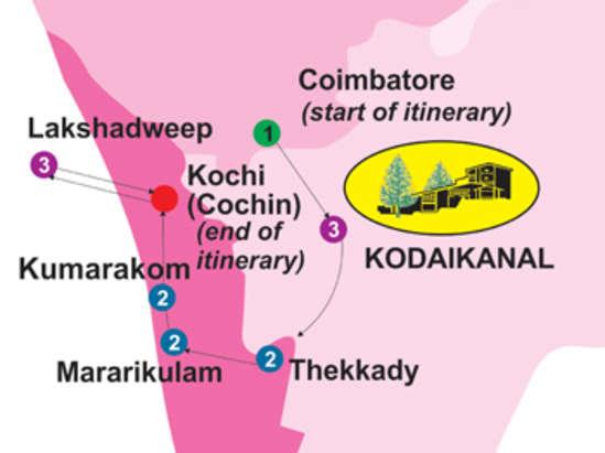 Marine Ride for 14 days, The Carlton Hotel , 5 Star hotels in Kodaikanal