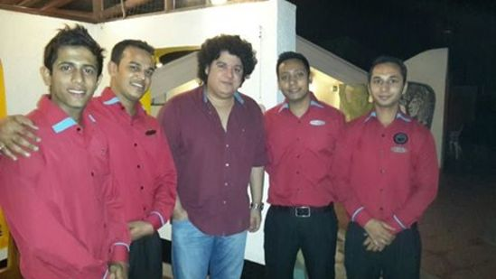 Sajid Khan at The Orchid Hotel Mumbai
