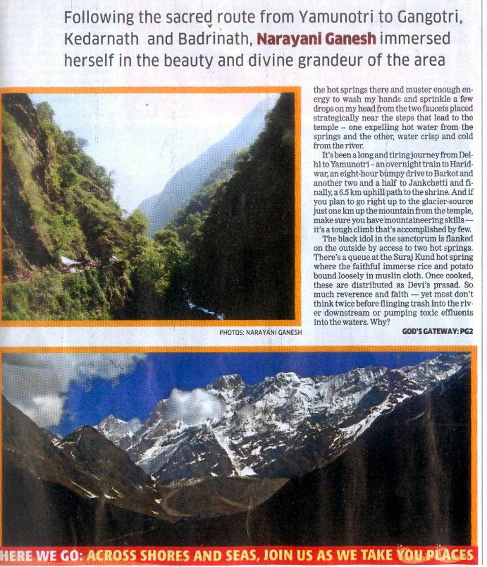 The Haveli Hari Ganga Hotel, Haridwar Haridwar Media Coverage 8 of The Haveli Hari Ganga Hotel Haridwar