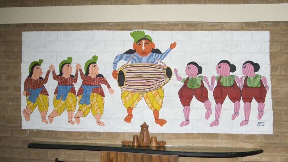 Our Native Village Bengaluru Our Native Village Murals 10