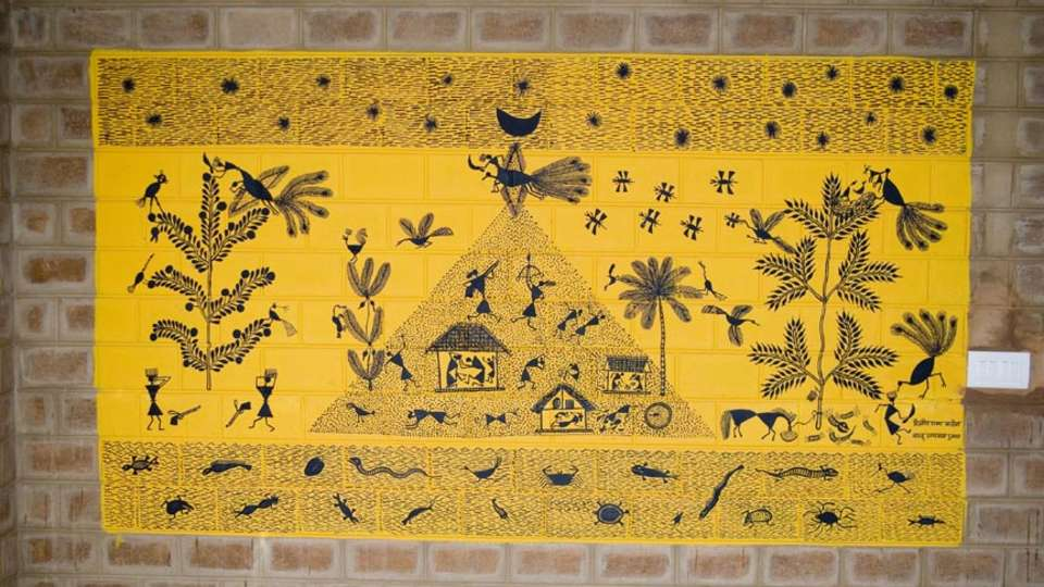 Our Native Village Bengaluru Our Native Village Murals 5