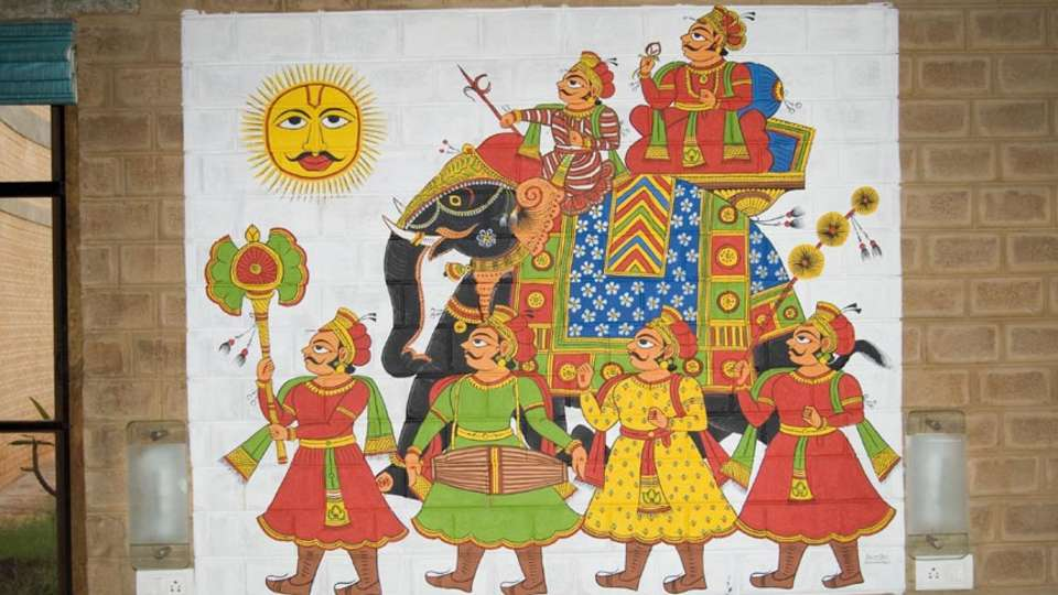 Our Native Village Bengaluru Our Native Village Murals 7