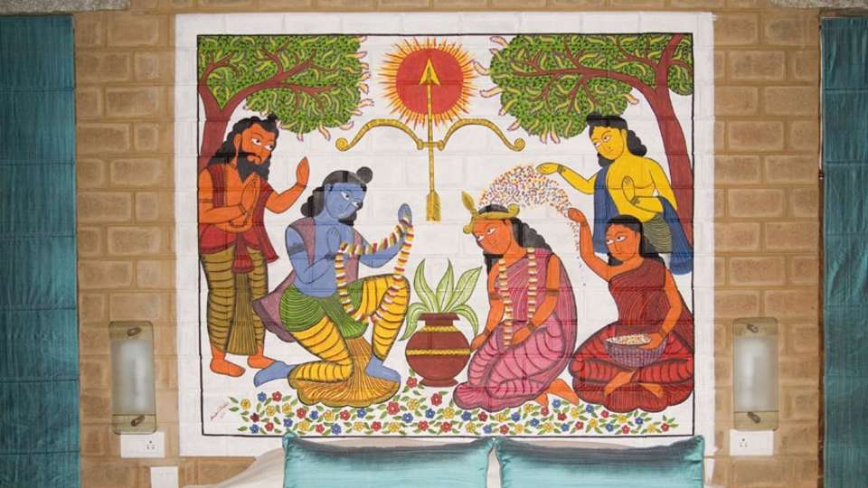 Our Native Village Bengaluru Our Native Village Murals 8