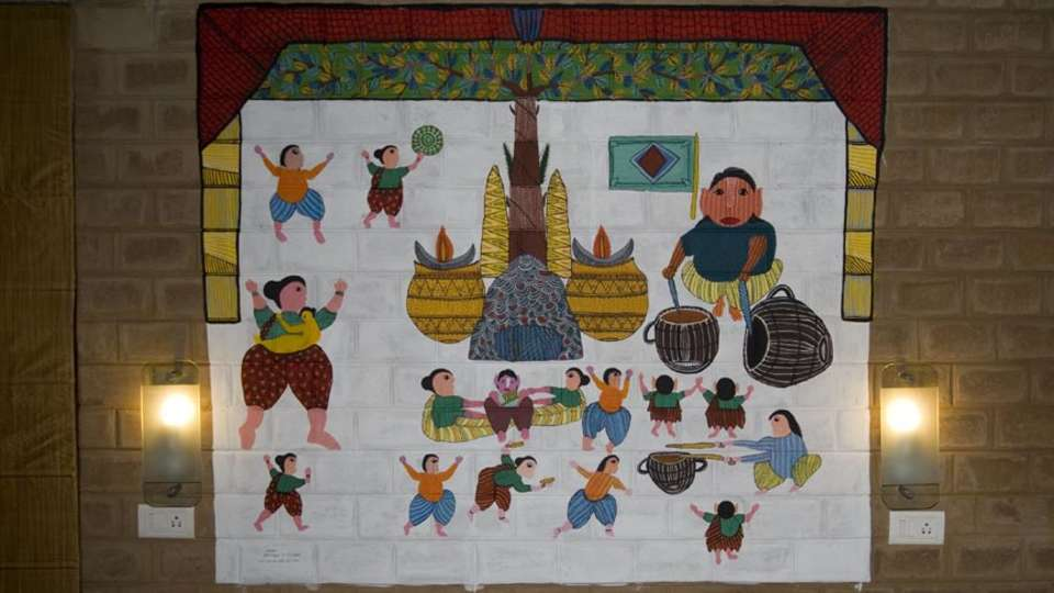 Our Native Village Bengaluru Our Native Village Murals 9