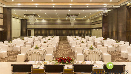 event venue at Narayani Heights hotels, best banquets in ahmedabad 2