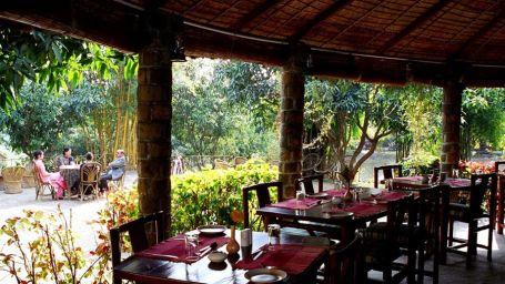 Tiger Camp Resort, Corbett Uttarakhand Gol Ghar Tiger Camp Restaurant Corbett 2