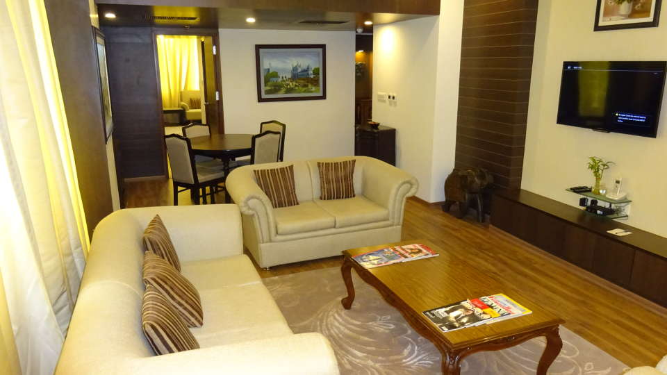Suite Room Clarks Avadh, hotel near gomti river in Lucknow